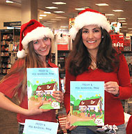 Cuddle Up and Read Book Signing Barnes and Noble Anna Messina and Erin